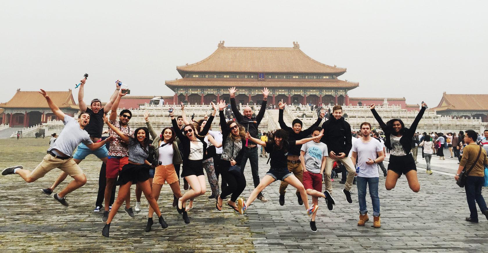 Летние каникулы в Китае